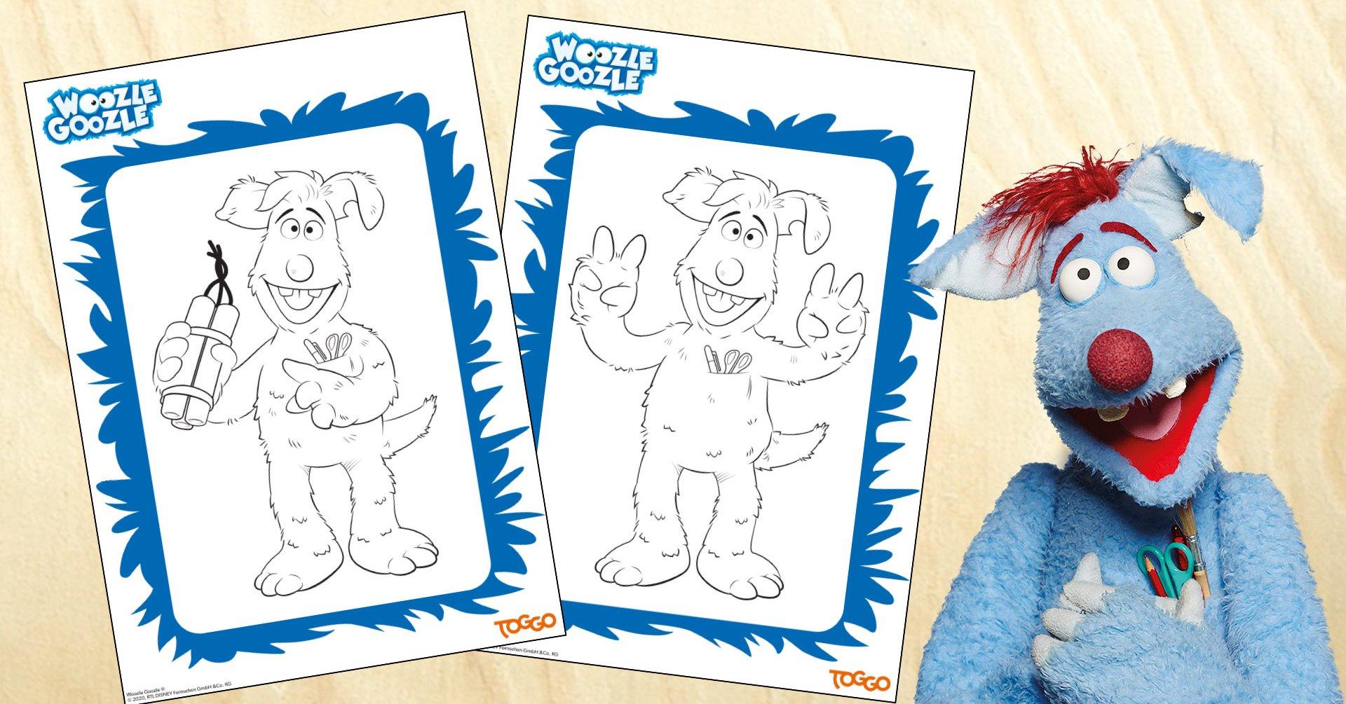 Woozle Goozle Ausmalbilder zum Runterladen  TOGGO Eltern